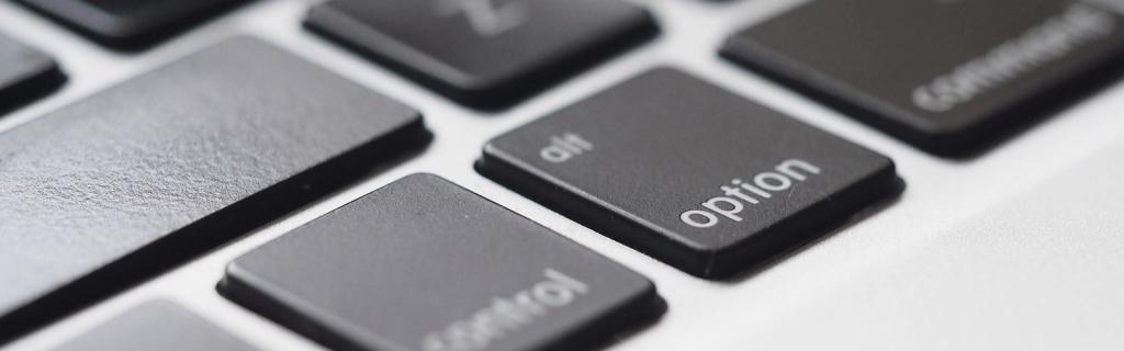 Laptop Keyboard Zoomed In